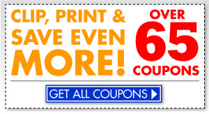 Get coupons online!